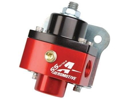 Regulator ciśnienia paliwa Aeromotive SS Carburetor 750HP ORB-06 Red/Black - GRUBYGARAGE - Sklep Tuningowy
